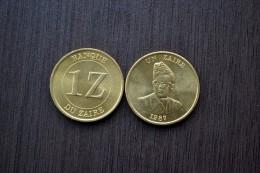 Zaire Coin 1 Zaire 1987 . KM13 . 1PCS . Africa Coin, UNC. - Zaïre (1971-97)