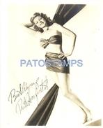 60735 ARTIST RITA HAYWORTH US ACTREES CINEMA MOVIE  AUTOGRAPH PHOTO NO POSTAL TYPE POSTCARD - Entertainers