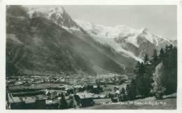 74 - CHAMONIX.  Mt Blanc Et Aig. Du Midi - Chamonix-Mont-Blanc