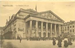 BRUXELLES - Le Théâtre Royal - Monuments