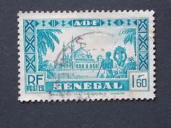 Timbre ( Ex-colonies & Protectorats ) SENEGAL    Y&T N° 167 (o) - Senegal (1887-1944)