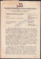 Germany Berlin 1944 / German Association Of Maritime Search And Rescue / Deutsche Gesselschaft Zur Rettung Schiffbrüchig - Germania