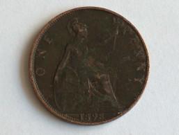 UK 1 PENNY 1898 ONE GRANDE BRETAGNE - 1816-1901 : Frappes XIX° S.