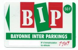 PIAF BAYONNE INTER PARKINGS 50FF