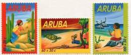 ARUBA 2002. Pour L'enfance. Enfants Et Animaux. For Children. Fauna (3)