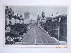 Postcard West Street Durban South Africa Animated Street Scene My Ref B1154 - South Africa