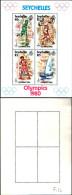 84446) Seychelles-1980- Olimpiadi Di Mosca-BF-n.14- Nuovo- - Seychelles (1976-...)