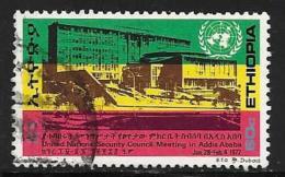 Ethiopia, Scott # 638 Used Building Where UN Security Council Met ,1972 - Ethiopia