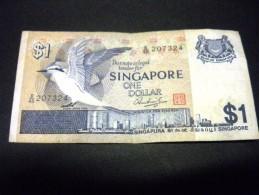 SINGAPOUR 1 Dollar 1976,1976-1980, Pick N° 9, SINGAPORE - Singapour