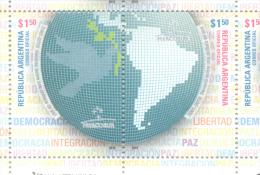 DECENIO SOBRE LA CULTURA DE LA PAZ 2001-2010 REPUBLICA ARGENTINA MNH - Argentina