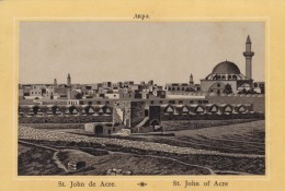 C1890s/1900s Vintage Picture Card Middle East, St. John Of Acre, Israel Palestine Image - Géographie