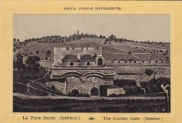C1890s/1900s Vintage Picture Card Middle East, The Golden Gate At Temple Mount, Israel Image - Géographie