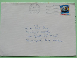 USA 1988 Cover Gainesville To New York N.Y. - Earth Globe E - Lettres & Documents