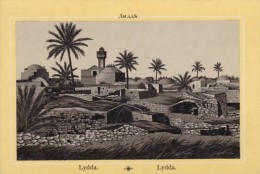 C1890s/1900s Picture Card (Postcard-like) Middle East Image Lydda (Now Lod Israel) - Géographie