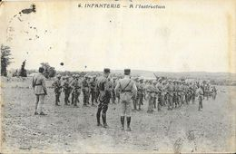 Infanterie - A L'Instruction - Edition A. Bardou - Manovre