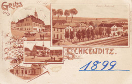 Ak Schkeuditz, 1899, Selten - Schkeuditz