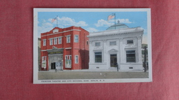 Princess Theatre & City National Bank  Berlin NH ---ref 2379 - Banks