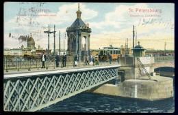 Cpa De Russie  Saint Petersbourg -- Chapelle Au Pont Nicolas     NCL4 - Russie