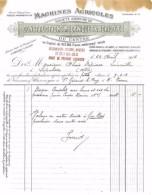 FACTURE FERBLANTERIE PLOMBERIE ZINGUERIE 1904 HTE BOISSIN 07 LABLACHERE - Petits Métiers
