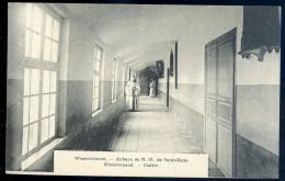 Cpa De Belgique Westvletteren Abbaye De N.D De Saint Sixte - Cloître      NCL4 - Vleteren