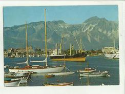 134750 MARINA DI CARRARA BARCA A VELA E GROSSA NAVE - Carrara