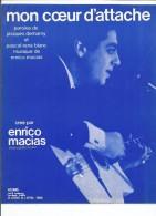 Partition ENRICO MACIAS Mon Coeur D'attache - Partitions Musicales Anciennes