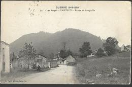 88 TAINTRUX  Route De Rougiville    CPA 1905 Guerre De 1914 - 1918 - Guerre 1914-18