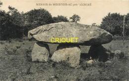 56  Environs De Locminé, Menhir De Moustoir-Ac, Cliché Pas Courant - Locmine