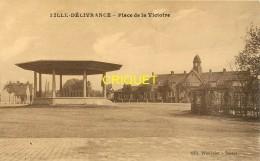 59 Lille-Délivrance, Place De La Victoire, Beau Kiosque à Musique, Carte Pas Courante - Lille