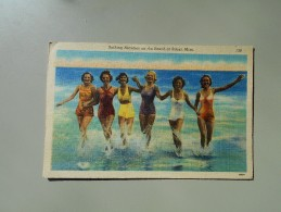 ETATS UNIS MS MISSISSIPI BATHING BEAUTIES ON THE BEACH AT BELOXI - Autres