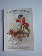 CHROMO A LA REINE BLANCHE ANGOULEME M. DE CRAC LOUP CHEVAL Lith APPEL - Autres