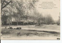 PONT SAINT ESPRIT  Rond Point Du Champs De Mars,promenade Nord - Pont-Saint-Esprit