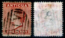Antigua-010 - 1873-76 - Yvert & Tellier N. 6 (o) Obliterated - Privo Di Difetti Occulti. - Antigua E Barbuda (1981-...)