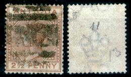 Antigua-011 - 1882 - Yvert & Tellier N. 11 (o) Obliterated - Privo Di Difetti Occulti. - Antigua E Barbuda (1981-...)