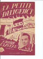 PARTITION ANDRÉ CLAVEAU LA PETITE DILIGENCE DE TOURS FONTENOY 1950 GUITARE ACCORDÉON - Partituras