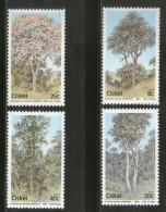 Ciskei 1983 Trees Plant Flora Environment Conservation Sc 46-49 MNH # 2647 - Umweltschutz Und Klima