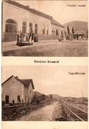 Borsa  , Trebisov ,   Stanica , Bahnhof , 1916 - Slovaquie