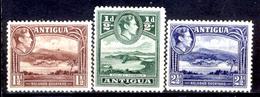 Antigua-014 - Valori Emessi Nel 1938-48 (sg) NG - Privi Di Difetti Occulti. - Antigua E Barbuda (1981-...)