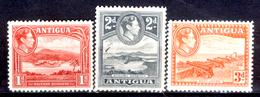 Antigua-015 - Valori Emessi Nel 1938-48 (sg) NG - Privi Di Difetti Occulti. - Antigua E Barbuda (1981-...)