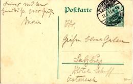 CP De Rinkerode (12.03.1911) - Stamped Stationery