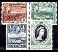 Antigua-017 - Valori Emessi Nel 1953-54 (+) Hinged - Privi Di Difetti Occulti. - Antigua E Barbuda (1981-...)