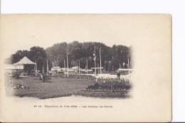 1 Cpa Exposition Lille 1902. Les Jardins, Les Serres. Kiosque - Esposizioni