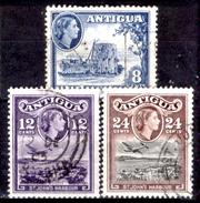 Antigua-018 - Valori Emessi Nel 1954 (o) Obliterated - Privi Di Difetti Occulti. - Antigua E Barbuda (1981-...)