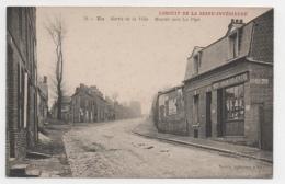 76 SEINE MARITIME - EU Sortie De La Ville, Montée Vers La Pipe - Eu