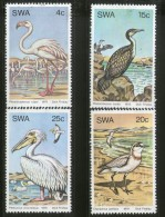 South West Africa 1979 Water Birds Flamingo Stork Wildlife Sc 429-32 MNH # 1436 - Storks & Long-legged Wading Birds