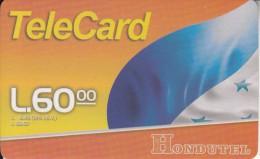 HONDURAS - Flag, Hondutel Prepaid Card L60, Used - Honduras