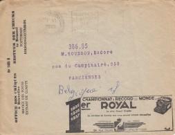 Office Des Cheques Postaux, Postcheckambt, Déchets De Cuir, Chaussures, Cuir Lissé, Peausseries (07890) - Textile