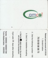 GAMBIA - Amcel Prepaid Card D50, Exp.date 10/05/02, Used