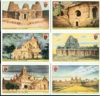 FIGURINE LAVAZZA - RIPRODUZIONE UFF.LE SERIE ARCHITETTURA INDIANA- XXIII - Chromos