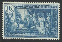 Philippines, 16 C. 1935, Sc # 399, Mi # 374, MH. - Filippine